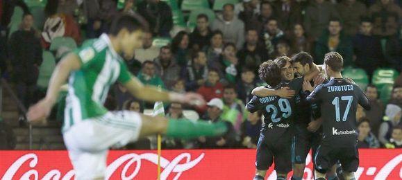 El Betis sólo ha ganado una vez en San Sebastián en lo que va de siglo