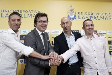 Ayestarán toma el mando en los entrenamientos de la UD Las Palmas