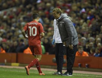 """Klopp asegura que Coutinho está al """"cien por cien con el Liverpool"""""""