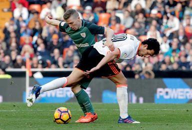 El Valencia quiere seguir al alza a costa de un Athletic en horas bajas