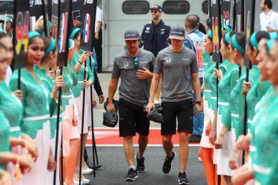 "Alonso: ""Hoy no he podido ayudar al equipo"""