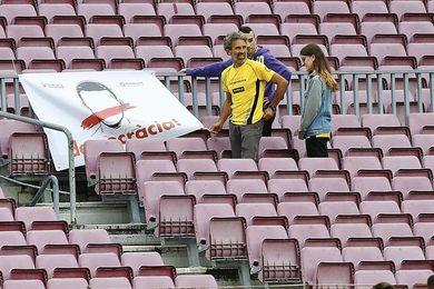 El Barça vacía el campo para evitar altercados en el partido contra Las Palmas