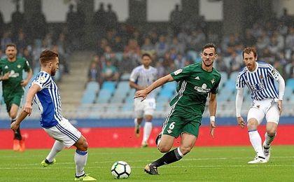 Real y Betis disputaron un partido loco.