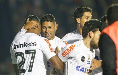 Santos se impone al Palmeiras y se afianza en el segundo lugar del fútbol en Brasil