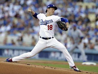 6-3. Maeda da a los Dodgers su triunfo 104