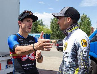 Francesc Guerra y Clàudia Galicia, vencedores de la Cataluña Bike Race