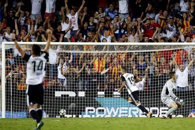 Rodrigo marcó en cuatro jornadas seguidas como Mundo, Waldo, Kempes o Villa