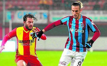 Yusuf Yazici, centrocampista del Trabzonspor, es una de las grandes promesas otomanas.