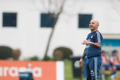 Argentina comienza entrenamientos sin Messi, Mascherano, Biglia ni Dybala