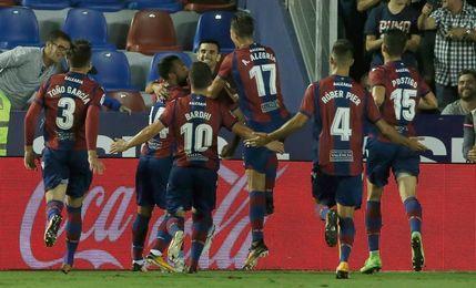 El Levante vuelve mañana al trabajo sin diez futbolistas