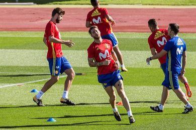 Ramos presume de España en las redes sociales