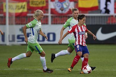 0-3. El Wolfsburgo aleja al Atlético Madrid de su sueño europeo