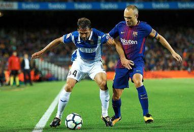 Víctor Sánchez sufre una lesión de grado uno en el gemelo izquierdo