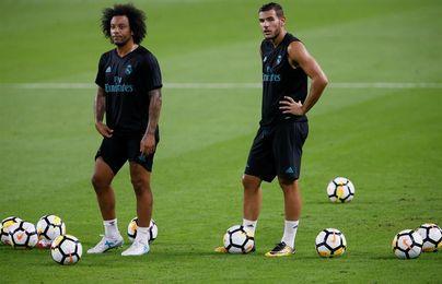 Marcelo, Theo y Benzema siguen su progresión