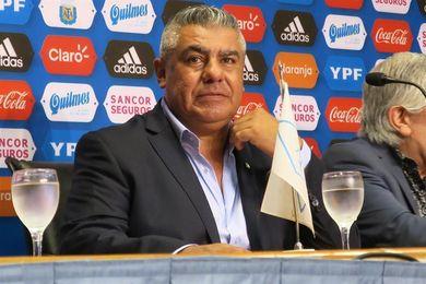 Desvalijan la casa del presidente de la AFA durante el partido de Argentina y Perú