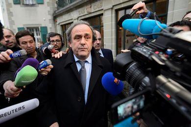 Platini, en el ecuador de su sanción