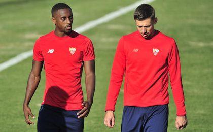 Carole ha disputado 326 minutos con el Sevilla.
