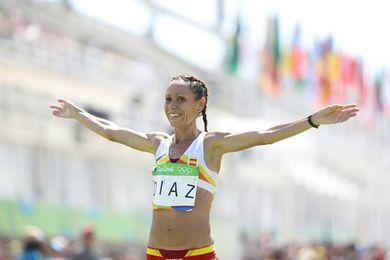 Azucena Díaz gana los 10 km femeninos de Madrid