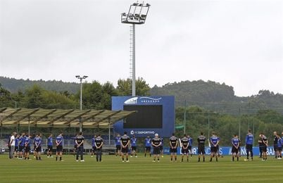 El Deportivo preparará con seis entrenamientos la visita al Eibar