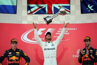 Hamilton, con vía libre hacia el título