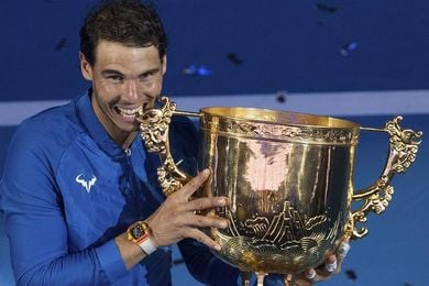 Pekín corona a Nadal 12 años después y Garcia gana el torneo femenino