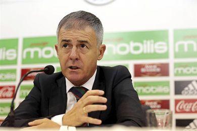 Alcaraz podría dirigir ante Camerún su último partido como técnico argelino