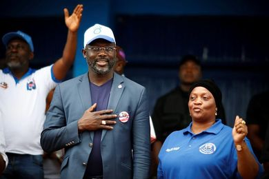 George Weah, el único Balón de Oro africano, quiere presidir Liberia