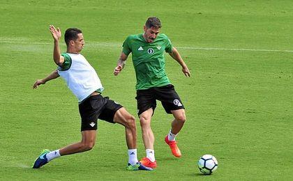 Javi García no se ha recuperado de su lesión.