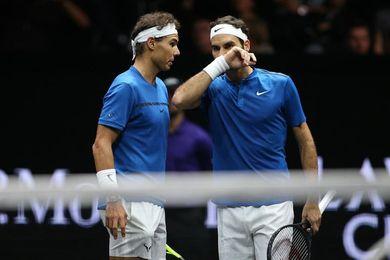 Nadal y Federer se sientan juntos a cenar antes de pelear por ganar Shanghái