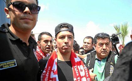 Nasri es un ídolo en el Antalyaspor.