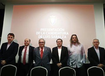 """Sabalza destaca que el """"mejor aval"""" de su candidatura es su """"gestión"""""""
