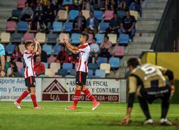 2-2. El Barakaldo le iguala un 0-2 Athletic para celebrar su Centenario