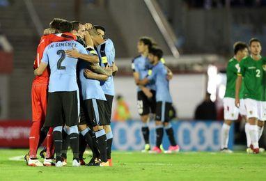 4-2. Uruguay rubrica con una goleada la mejor eliminatoria de su historia