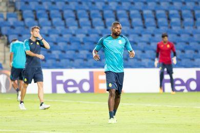 """Bakambu: """"Tengo una cifra de goles en la cabeza y busco lograrla"""""""