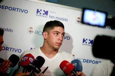 """Fede Valverde: """"Es una felicidad inmensa haber conseguido ir al Mundial"""""""