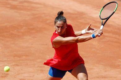 Sara Sorribes no pudo superar a Shuai Peng en cuartos de final