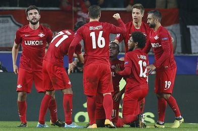 El Spartak Moscú escala posiciones en la liga antes de recibir al Sevilla