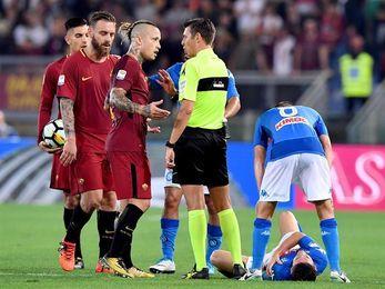 El líder Nápoles gana en Roma y se escapa a más 5 de Juventus, Inter y Lazio