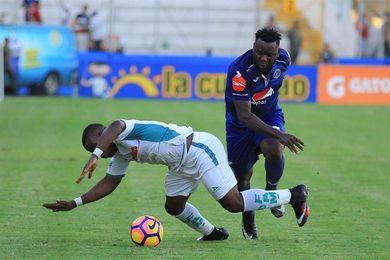 Marathón golea al Platense y se afianza en la cima del fútbol en Honduras