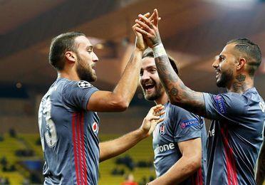 1-2. El Besiktas roza los octavos ante un Mónaco que malgasta un gol de Falcao
