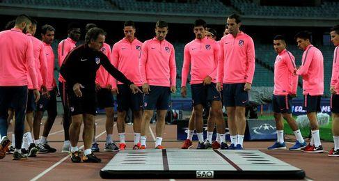 El Atlético, con la duda de Griezmann y sin margen de error