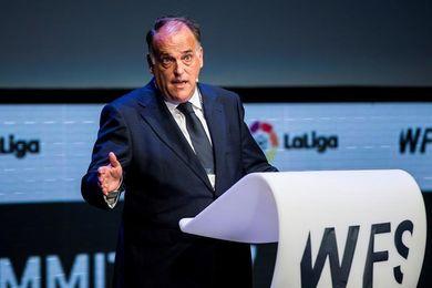 """Tebas: """"Los clubes catalanes no podrían elegir donde jugar si se independizan"""""""