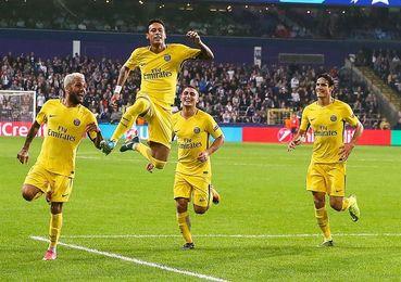 0-4 El tridente del PSG aniquila al Anderlecht