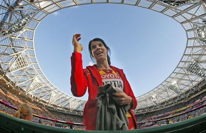 """Leyenda"", ""The Queen"" o ""The Best"", el deporte español elogia a Ruth Beitia"
