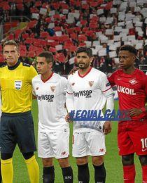 Banega es el jugador del Sevilla que más kilómetros ha corrido en la Liga de Campeones.