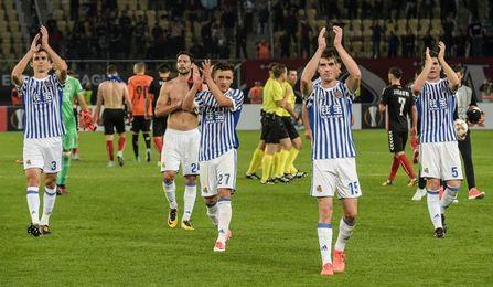 0-6. Willian José torpedea al Vardar en Skopje