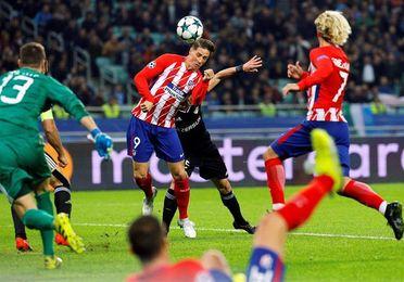 El Atlético vuelve al trabajo 14 horas después del empate en Azerbaiyán