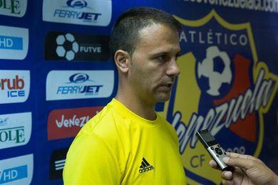 """Pallarés: Atlético Venezuela no ha recogido """"toda la recompensa"""" que merece"""