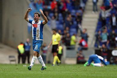 Víctor Sánchez supera una lesión en el gemelo y ya trabaja con el grupo