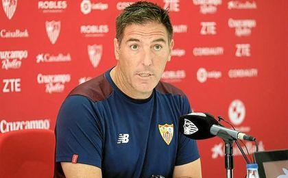 """Berizzo: """"No necesito el apoyo del club"""""""